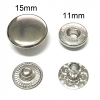 Produce snap button, snap fastener, button fastener, metal fastener, metal snap, spring button, pres