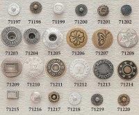 Produce jeans button, jeans rivet, jean button, jean rivet, trousers hook
